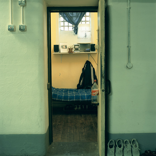 'Room 9', Photographic Lambdachrome print mounted on acrylic, 120 x 120 cm