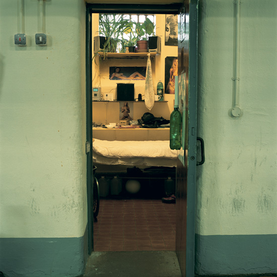 'Room 12', Photographic Lambdachrome print mounted on acrylic, 120 x 120 cm