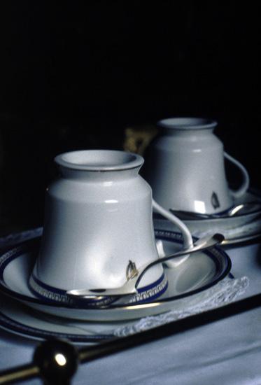 'Tea Cups', Photographic Lambdachrome print mounted on acrylic, 57 x 92cm