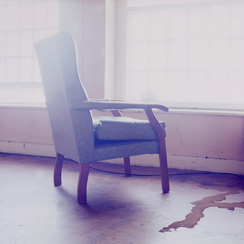 'Chair', Photographic Lambdachrome print mounted on acrylic, 100 x 100 cm