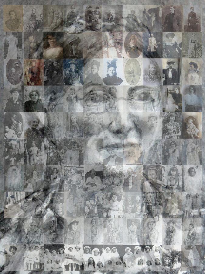 Mary Kelly: Full mosaic