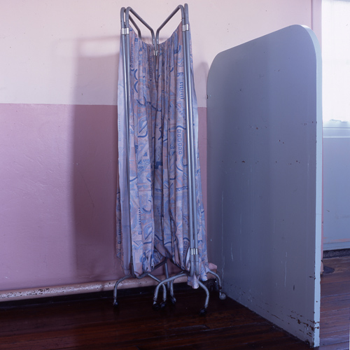 'Curtain', Photographic Lambdachrome print mounted on acrylic, 100 x 100 cm