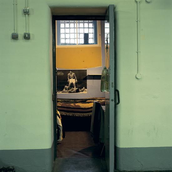 'Room 10', Photographic Lambdachrome print mounted on acrylic, 120 x 120 cm