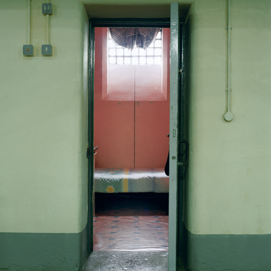 'Room 11', Photographic Lambdachrome print mounted on acrylic, 120 x 120 cm