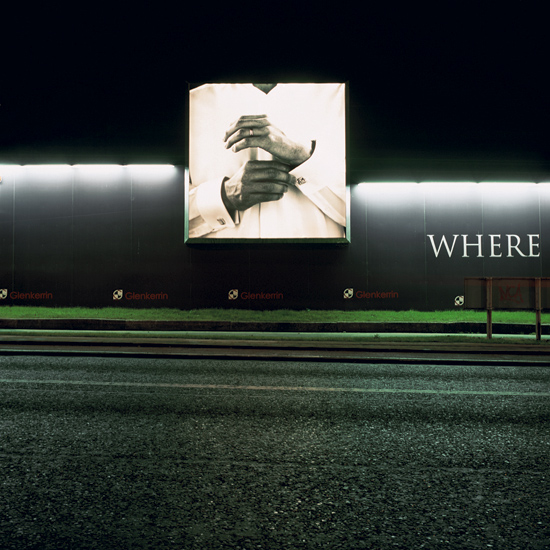 'Where', Photographic Lambdachrome print mounted on acrylic, 100 x 100 cm