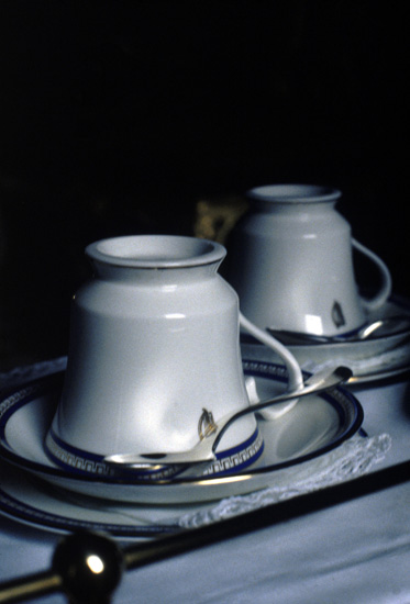 'Tea Cups', Photographic Lambdachrome print mounted on acrylic, 57 x 92cm
