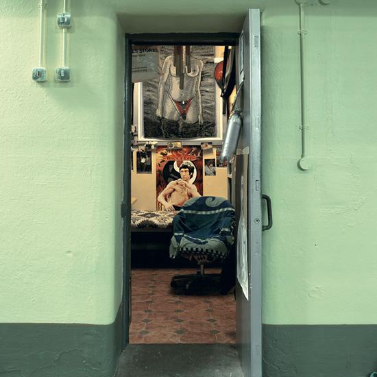 'Room 2', Photographic Lambdachrome print mounted on acrylic, 120 x 120 cm