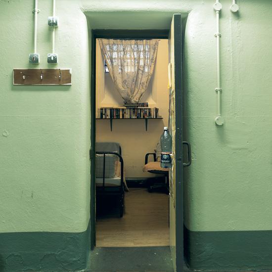 'Room 4', Photographic Lambdachrome print mounted on acrylic, 120 x 120 cm