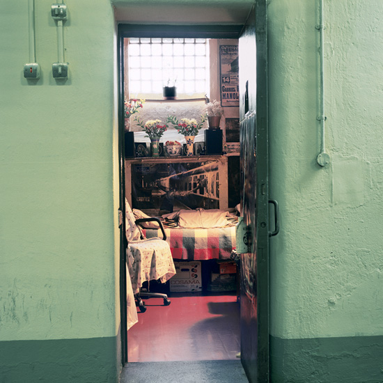 'Room 6', Photographic Lambdachrome print mounted on acrylic, 120 x 120 cm