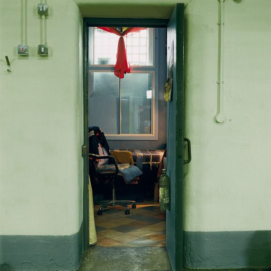 'Room 7', Photographic Lambdachrome print mounted on acrylic, 120 x 120 cm