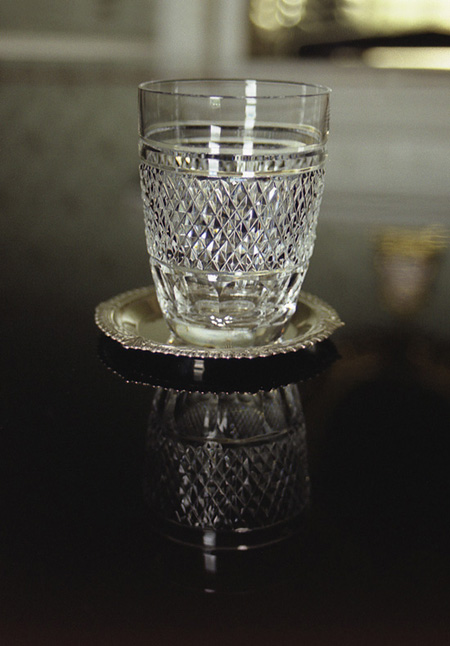 'Water Glass', Photographic Lambdachrome print mounted on acrylic, 57 x 92cm