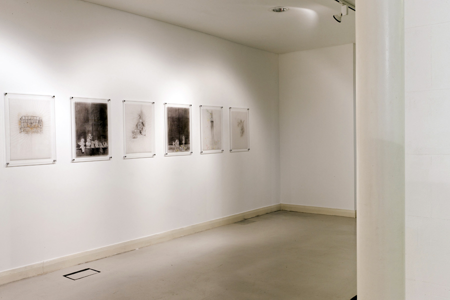 Installation shot, Highlanes Gallery, 2012