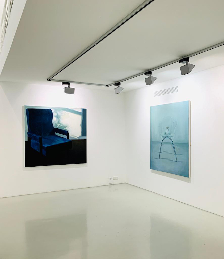'Chairs', installation shot, Galerie Voss, 2020